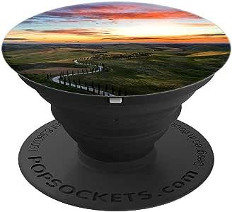 Tuscany Italy – PopSockets 手机和平板电脑抓握支架260027  黑色