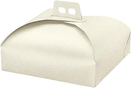 Garcia de Pou 盒子蛋糕,纸板,白色,31 x 31 x 7厘米