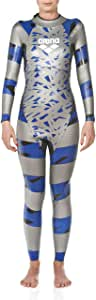 Arena SAMS 碳泳衣 银色/蓝色 大