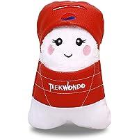 TAE-S] Taekwondo Inspired * 纯棉运动毛巾,可变为娃娃 - 多种用途,柔软、吸水、轻盈、快干