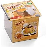 CAKELAND 带盖9.5cm正方吐司面包模具0.5斤 2382(日本的0.5斤≈300g)