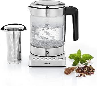 WMF 福腾宝 迷你厨具系列 2合1变档烧水壶,可设定温度,1升,1900W,带有适用于煮茶的插入式网筛
