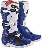 Alpinestars Tech 3 越野靴 Blue/White/Red 5