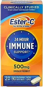 Ester-C 维生素 C,500 毫克 90份 90