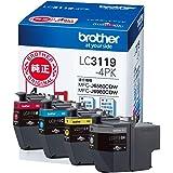 brother 原装墨盒大容量 4色套装 LC3119-4PK parentLC3119-4PK