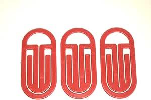 Laurel 圆形夹 KING尺寸 3个一组 红色