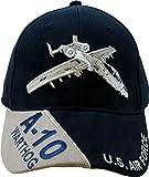 美国* ' A-10 warthog ' 球棒球帽蓝色可调节