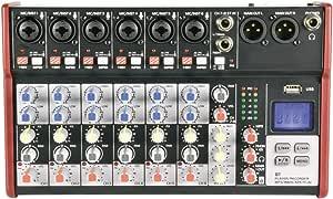 Citronic | CSM 紧凑混合器 6 Mono + 1 Stereo 6 Mono + 1 Stereo