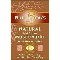 Billington 天然深棕色Molasses Light Brown Muscovado Sugar 0