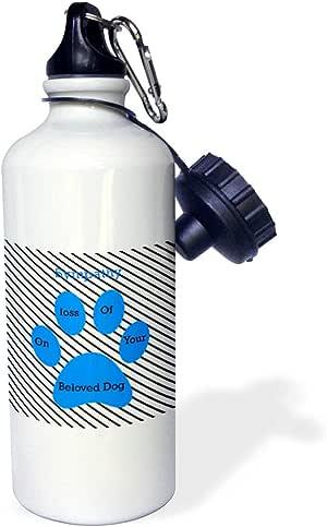 3dRose 7480_1 wb_262629_2 水壶,白色
