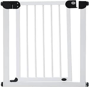 Foldea(Foldea) 木制 婴儿门 (安装宽度约76-94cm) 【附1个扩展框】 带门开放功能 WKS-BG5 [対象] 24ヶ月 ~ 白色