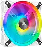 Corsair CO-9050039-WW ML 系列低噪音高压优质磁力排列风扇CO-9050103-WW Single Pack iCUE QL 120 mm
