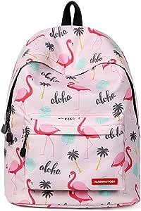 女学生背包 轻便书包 防水书包 中学生用 Flamingo 3
