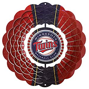 Iron Stop Minnesota Twins Wind Spinner
