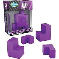 ThinkFun Pocket Brainteasers - *五座椅游戏和 STEM 玩具,适合 8 岁及以上男孩和女孩