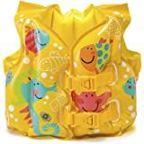 INTEX 游泳圈 TROPICAL BUDDIES SWIM VEST 41×30厘米 59661 [日本正品]