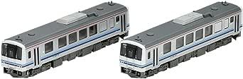 TOMIX N轨距 KIHA120 300形 三江线 套装 2辆 98037 铁道模型 内燃机车