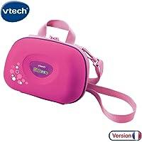 VTech 伟易达 Kidizoom 相机包| 儿童便携式硬包| 儿童数码相机配件 适用于3, 4, 5岁以上的儿童,粉…