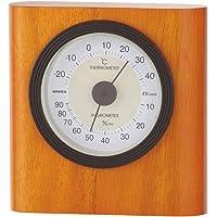EMPEX 气象计 温度湿度计 酵母温湿度计 放置用 日本制造 棕色 TM-642
