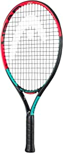 HEAD 中性青少年重力21 网球拍,多色,4 – 6 岁
