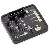 Aqua Computer Quadro 用于PWM风扇的风扇控制器,可连接环境灯光/背光