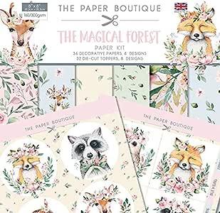 The Paper Boutique 神奇森林纸套件