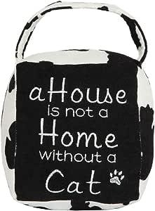 Lily's Home 可爱装饰加重室内门挡,紧凑柔软面料设计 Cat