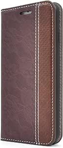 PLATA 蕾丝设计皮革手机壳  棕色 1_iPhone7/iPhone8