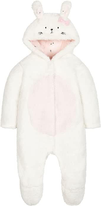 Mothercare Bunny 蓬松羊毛步行睡衣