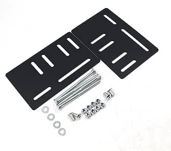 iFJF 设计用于安装螺栓固定床头板支架垂直 Modi - 2 件套