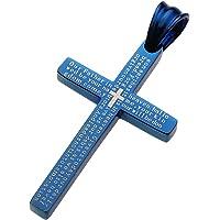Cenote 不锈钢配件 蓝色十字吊坠 26552500