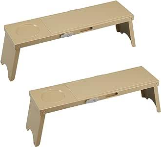 户外 桌子 PICNO (野餐) 卡其色 組立時:約幅12×奥行41.7×高さ13cm I-569-2