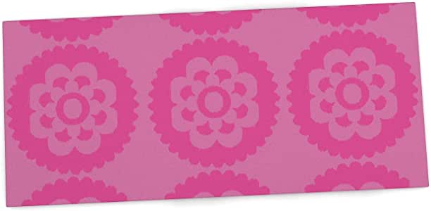 "KESS InHouse Nicole Ketchum ""Moroccan Pink"" Office Desk Mat, Blotter, Pad, Mousepad, 13 x 22-Inches"