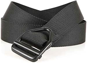 Bison Designs 38mm wide Light Duty Last Chance Belt with Black Buckle