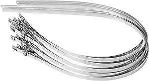 Monoprice SS316 不锈钢电缆扎带121587 1000mm Long 12mm Wide