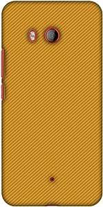 AMZER 超薄设计师卡扣式硬壳后盖带屏幕护理套件适用于 HTC U11 - 碳纤维 Redux 沙漠 1AMZ601040451222  Carbon Fiber Redux Desert Sand 16