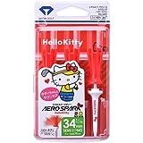 DAIYA GOLF 日本正规品 AERO SPARK TEE HelloKitty(凯蒂猫) 2020 3根装(TM)5401)