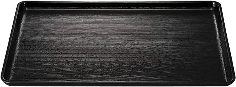 盂兰盆 托盘 : 福井工艺 盂兰盆 黑色(托盘、角形・3-52-2 新尺2) 369x290x18mm