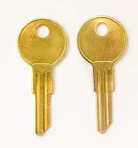 一对 2 个 HON 替换钥匙系列 101E 到 255E 预切割代码由 keys22 制造 143