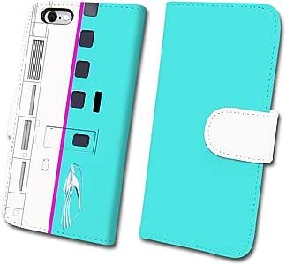 """铁路智能手机壳 No.4 """" E5系 隼"""" 【 笔记本 类型 】 已获得JR东日本商品化许可tc-t-004-6p iPhone6Plus/6sPlus 蓝色"""