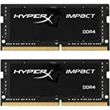Kingston Technology 金士顿 HyperX 冲击 32 GB 2666 MHz DDR 4 cl15 260-pin sodimm 笔记本电脑内存,2 件装(hx426s15ib2 K2 / 32 )