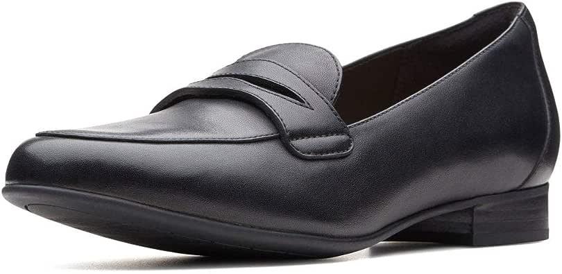 Clarks 女士 Unbrush Go 真皮 平底鞋 乐福鞋