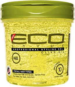 ECOCO Olive Oil Styling Gel, 16 Ounce