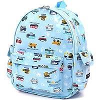 幼儿园背包 挂肩式 幼儿园包 幼儿园包 全开式可以轻松车(浅蓝色)N0626300