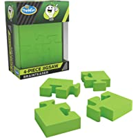 ThinkFun Pocket Brainteasers - 4 件套儿童*游戏和 STEM 玩具,适合 8 岁及以上男孩和女孩