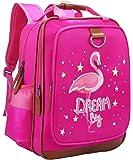 女孩背包 Pink Flamingo 38.10 厘米 | 幼儿园或小学书包