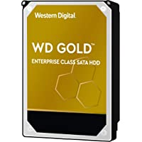 Western Digital Gold 12TB 企业级内置硬盘-7200 RPM级,SATA 6 GB / S,25…