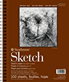 Strathmore 系列 400 素描本 9 英寸x 12 英寸- 100 页画纸