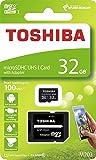 东芝 32GB Micro SD 存储卡 M203 SDHC UHS1 U1 Class10 带 SD 适配器 (THN-M203K0320A2)