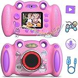 Campark 儿童数码相机 适合 3-8 岁儿童 生日礼物